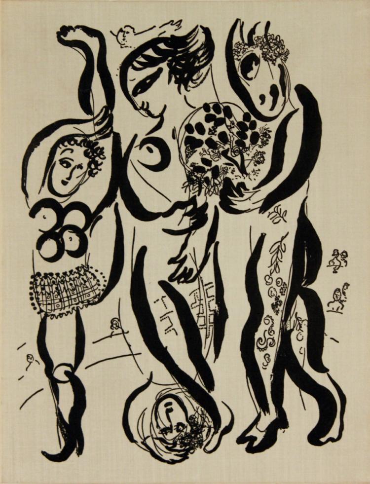 Marc Chagall Das Graphische Werk - 1957