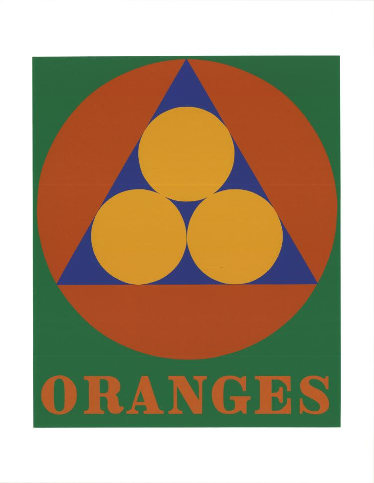 Robert Indiana - Oranges - 1997
