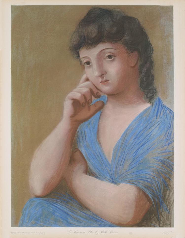 Pablo Picasso - La Femme en Bleu - 1948