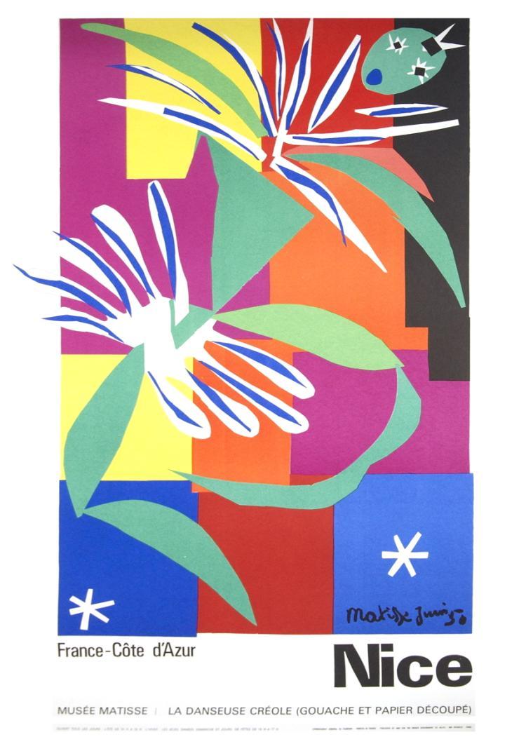 Henri Matisse - La Danseuse Creole, Nice, France - 1965