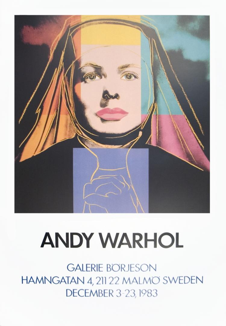 Andy Warhol - Ingrid The Nun - 1983
