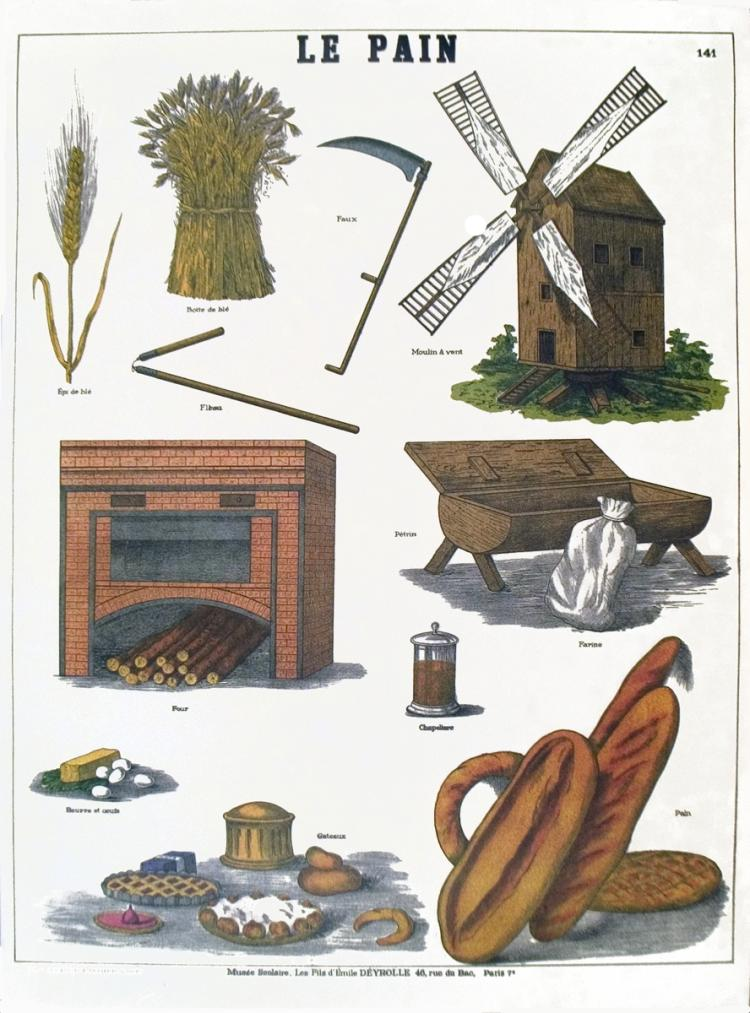 Emile Deyrolle - Le pain