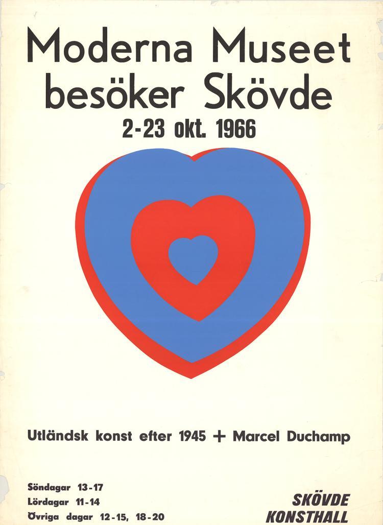 Marcel Duchamp - Moderna museet (heart) - 1966