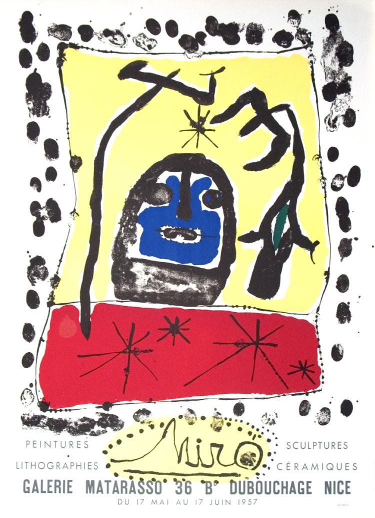 Joan Miro - Peintures, Lithographies, Sculptures, Ceramiques - 1957