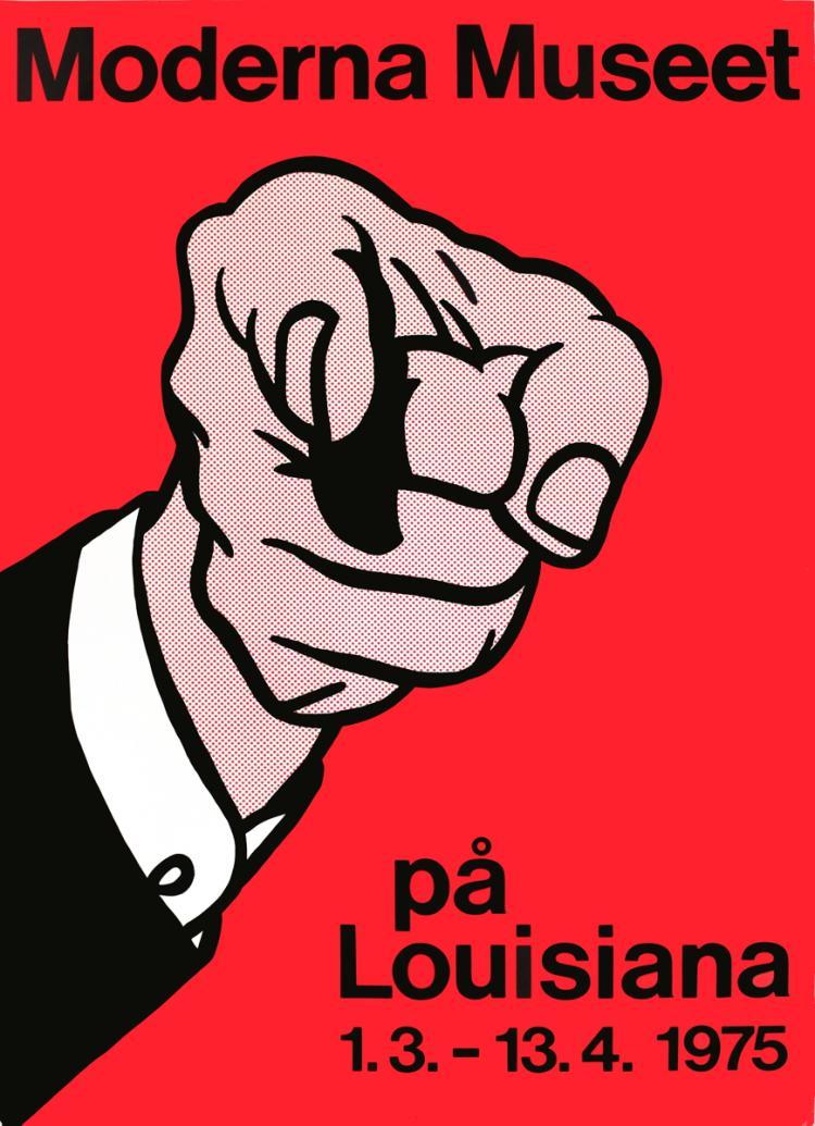 Roy Lichtenstein - Finger Pointing - 1975