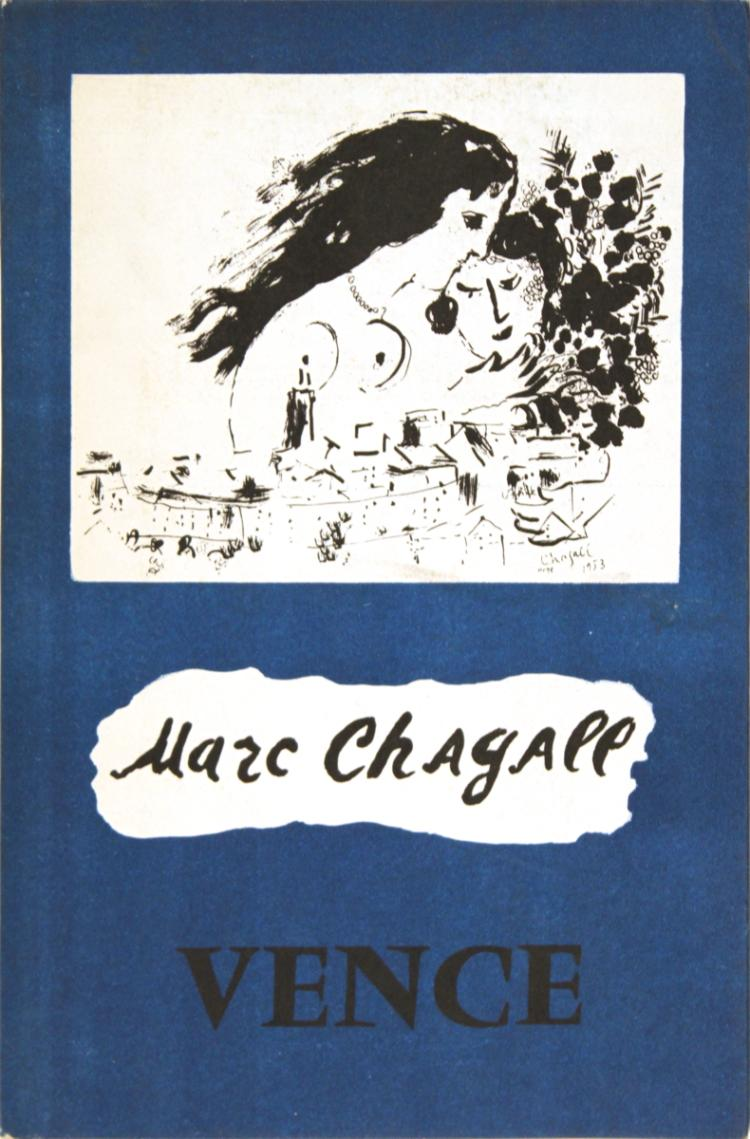 Marc Chagall Vence - 1967