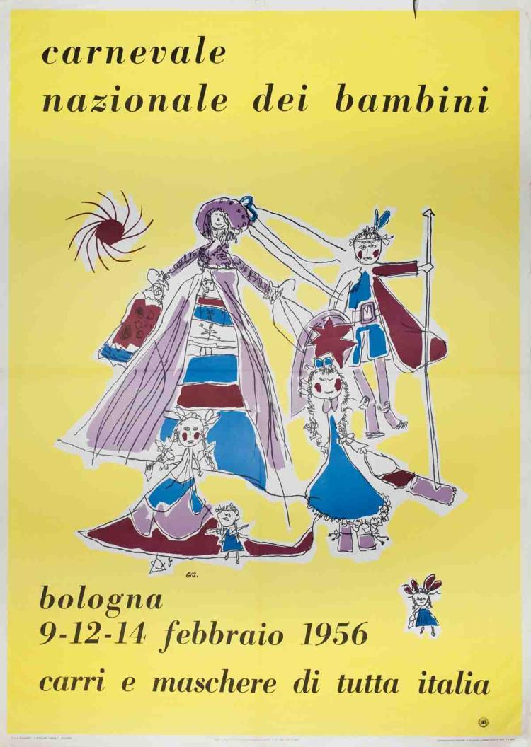 Carnevale Nazionale dei Bambini - 1956