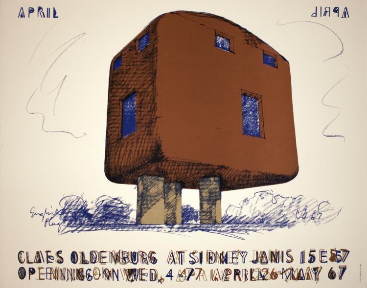 Claes Oldenburg - English Plug - 1967