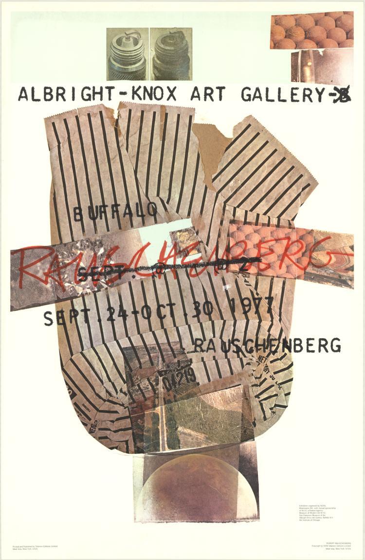 Robert Rauschenberg - Albright-Knox Gallery - 1976