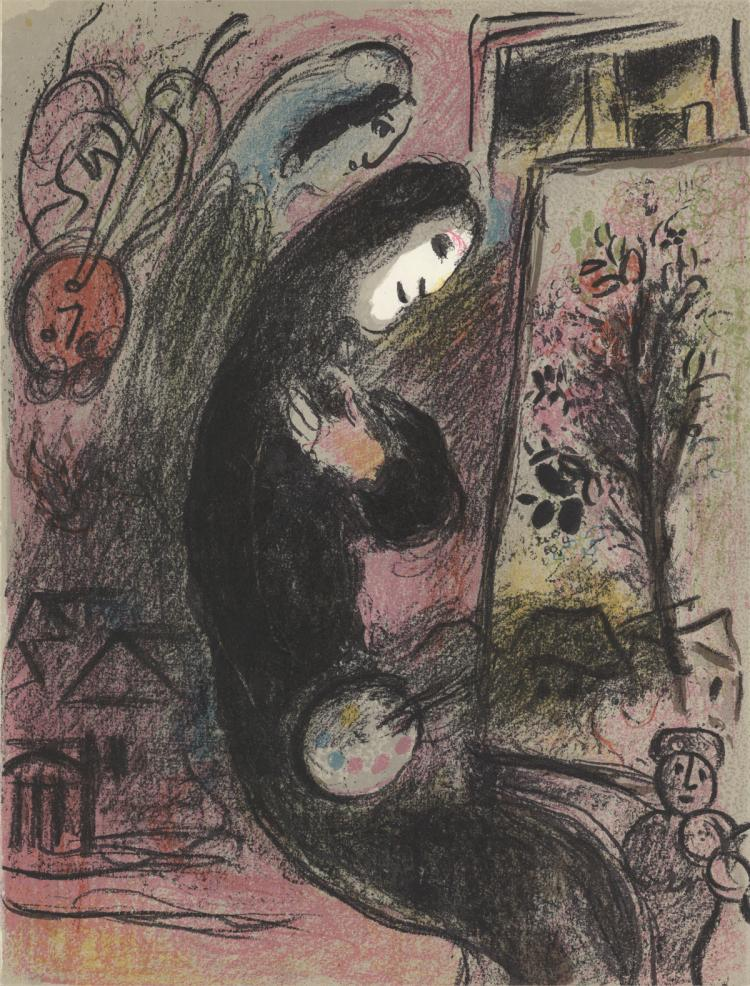 Marc Chagall - Inspired - 1963