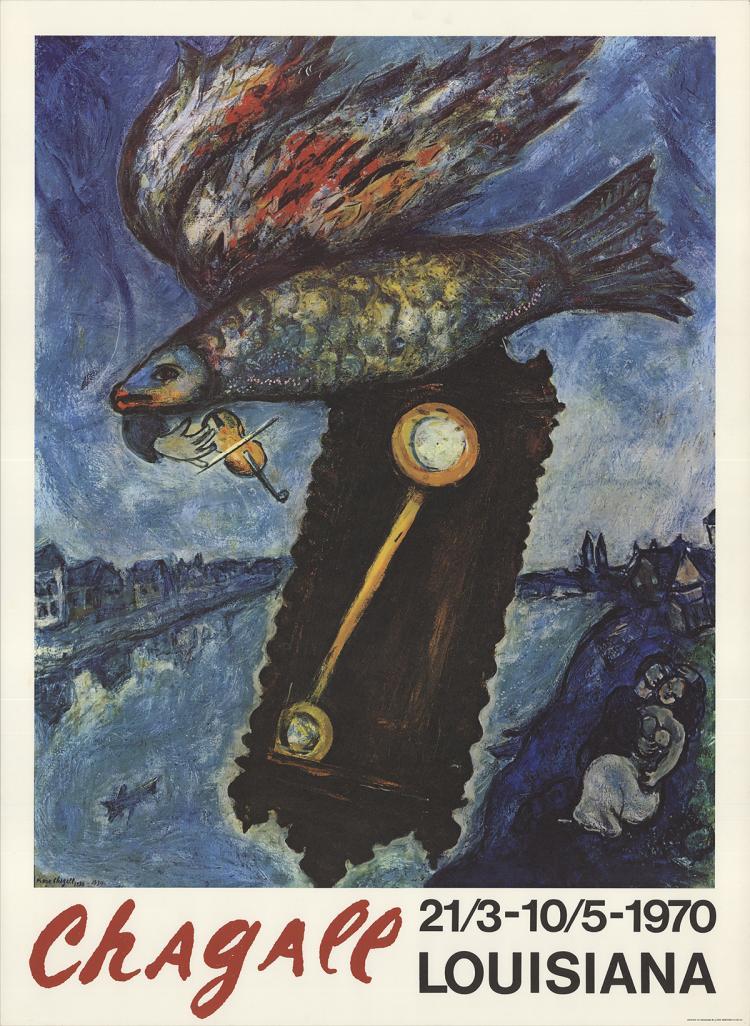 Marc Chagall - Louisiana - 1970