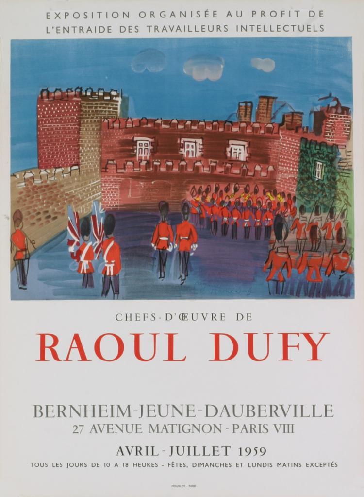 Raoul Dufy - Porte James - 1959