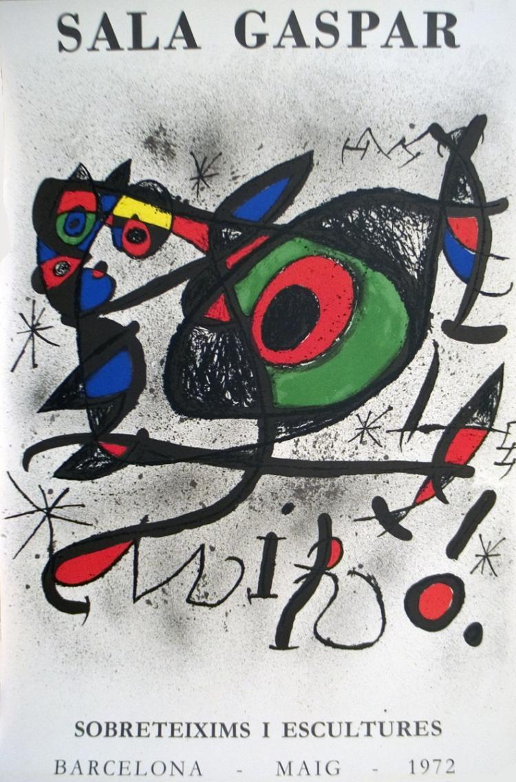 Joan Miro - Sobreteixims I Escultures - 1972