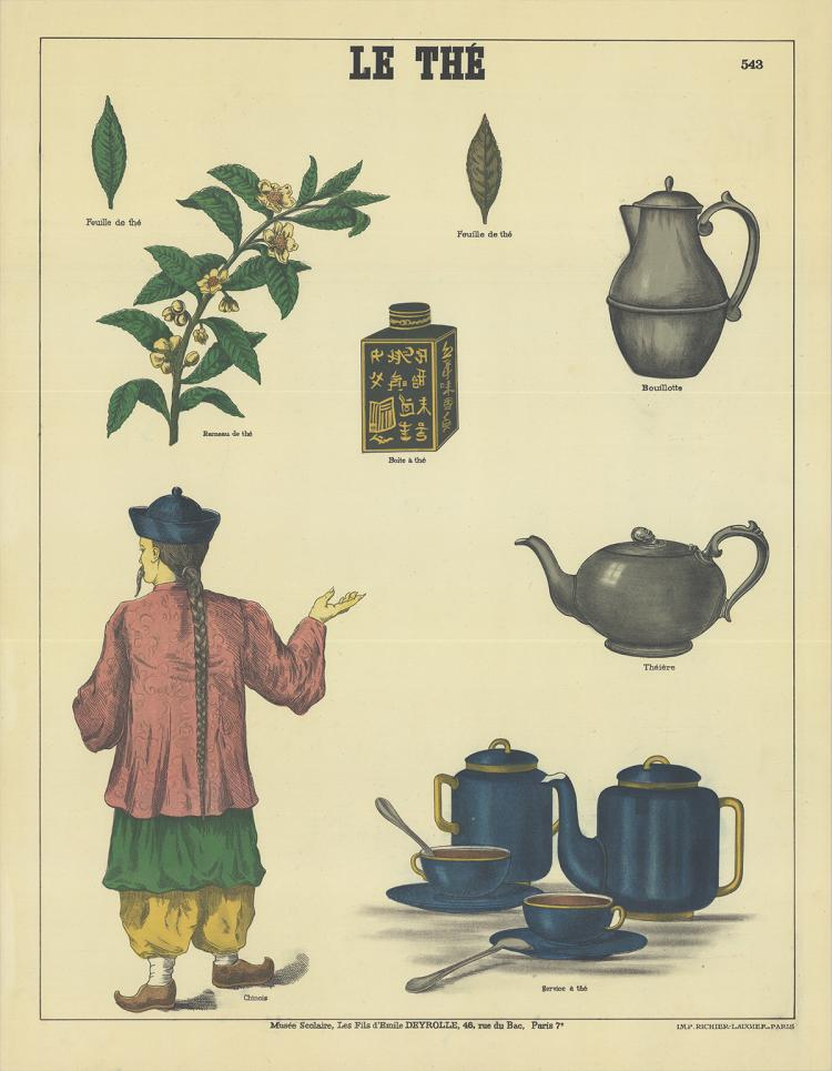 Emile Deyrolle - le The (Tea History)