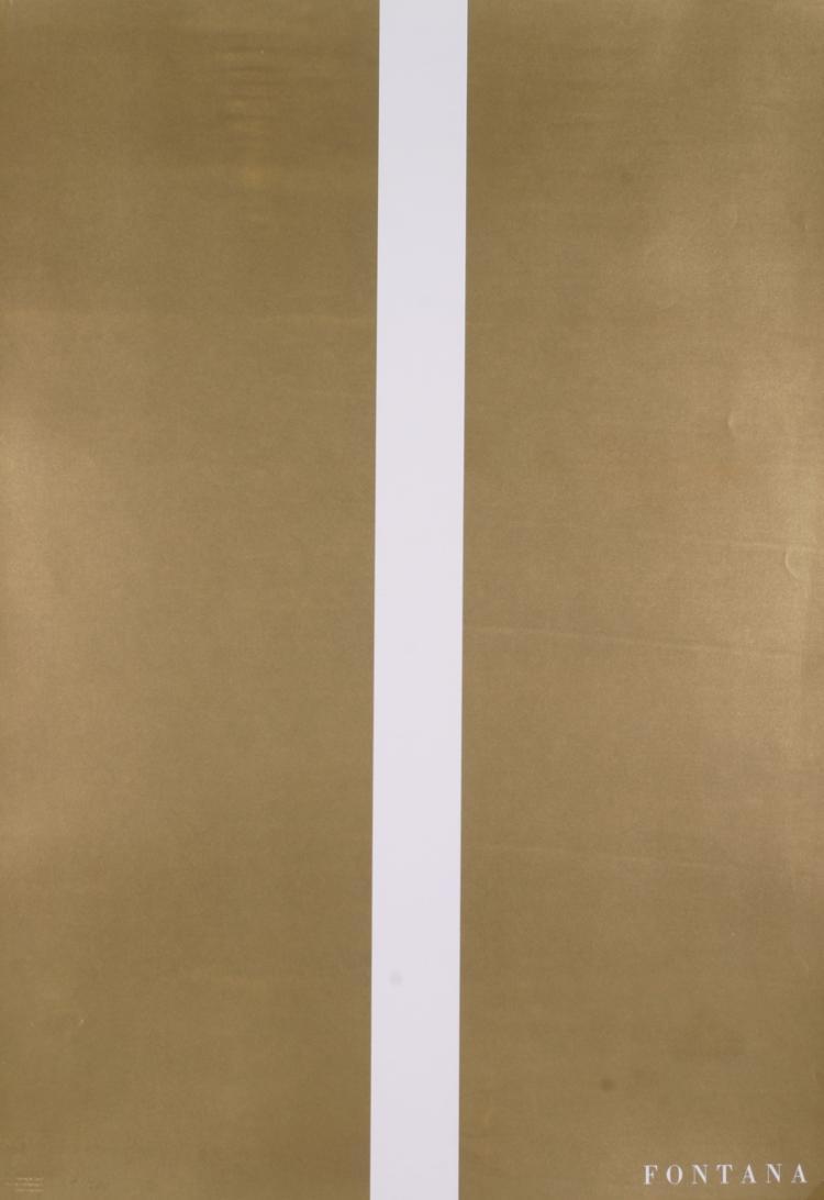 Lucio Fontana - Moderna Museet Stockholm