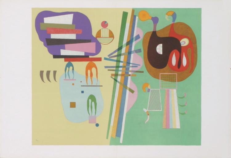Wassily Kandinsky - Untitled - 1939