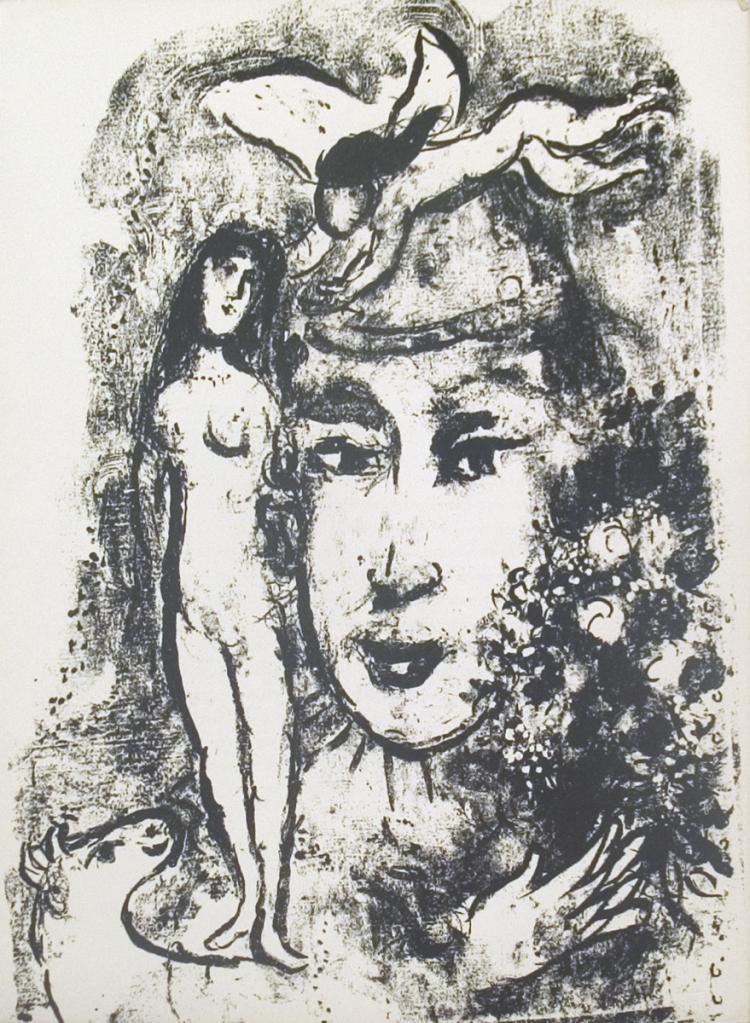 Marc Chagall - Derriere le Miroir, no. 147, pg 11 - 1964