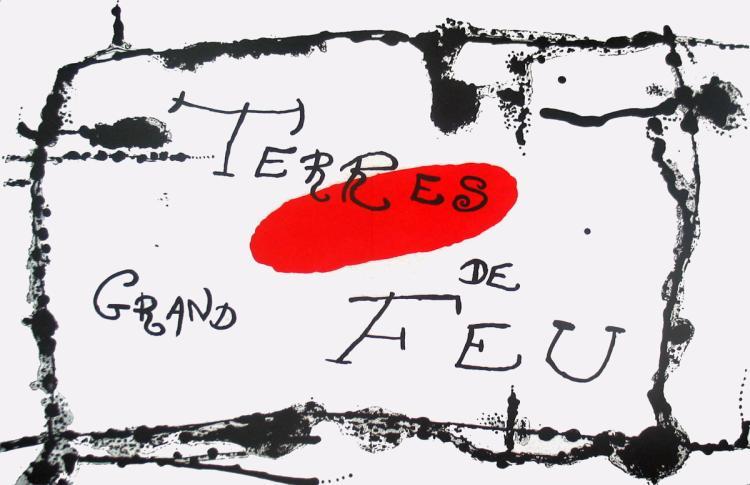 Joan Miro - Derriere le Miroir, no. 87-88-89, pg 6,7 - 1956