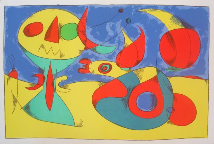 Joan Miro - Zephir Vogel - Zephyr Bird - 1956