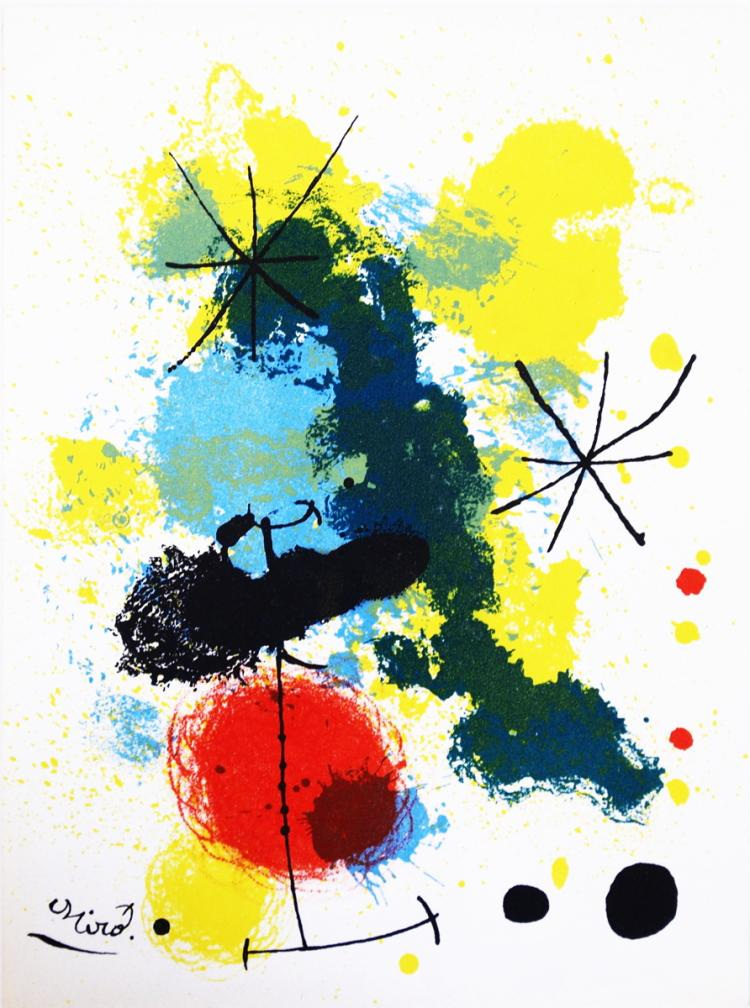 Joan Miro - Composition - 1964