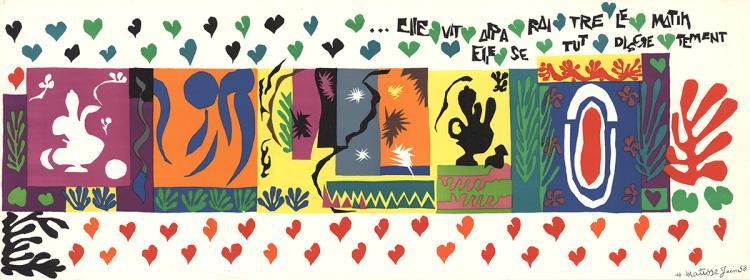Henri Matisse - Mille Et Une Nuits - 1951