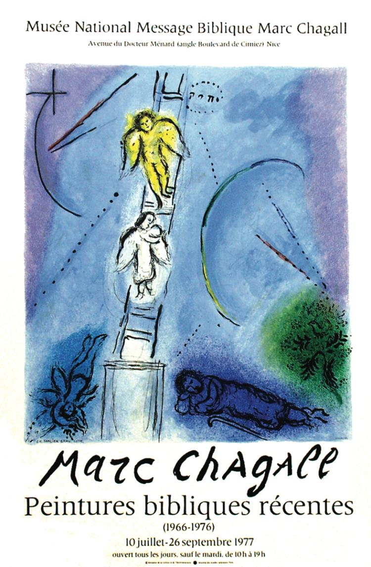 Marc Chagall - Jacob's Ladder - 1977