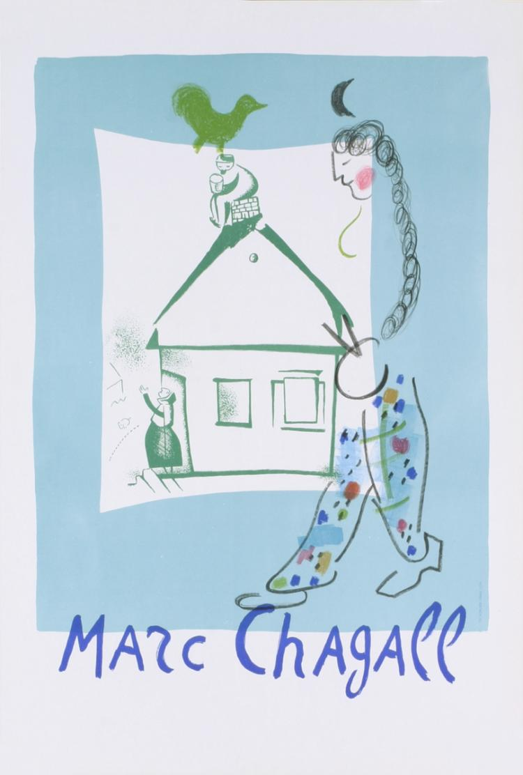 Marc Chagall - The House in My Village (before letters) - 1964