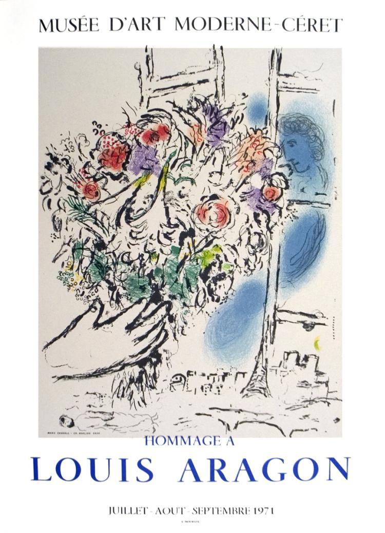 Marc Chagall - Floral Offering - 1971