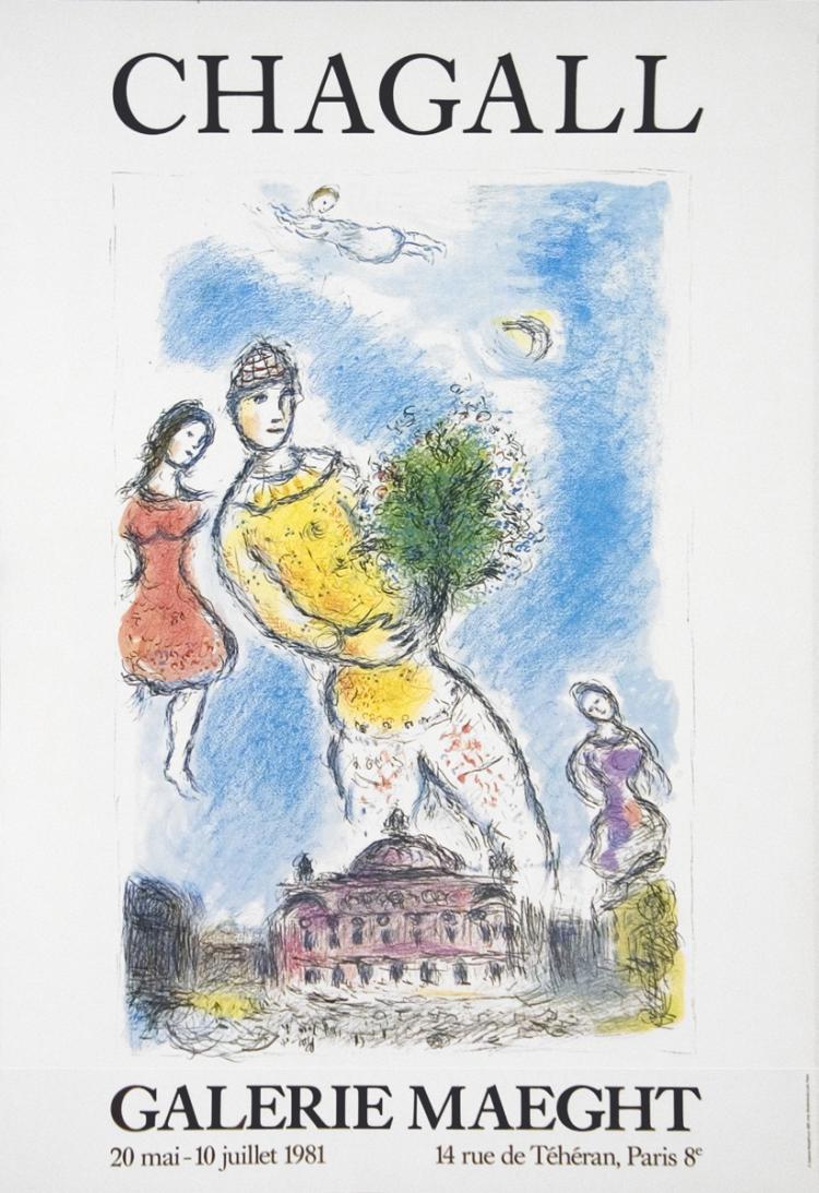Marc Chagall - Opera Bleu - 2004