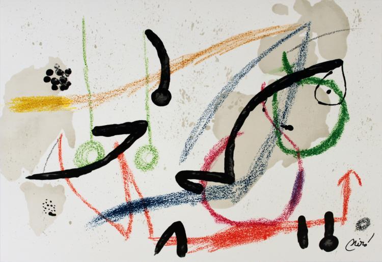 Joan Miro - Maravillas #1059 - 1975