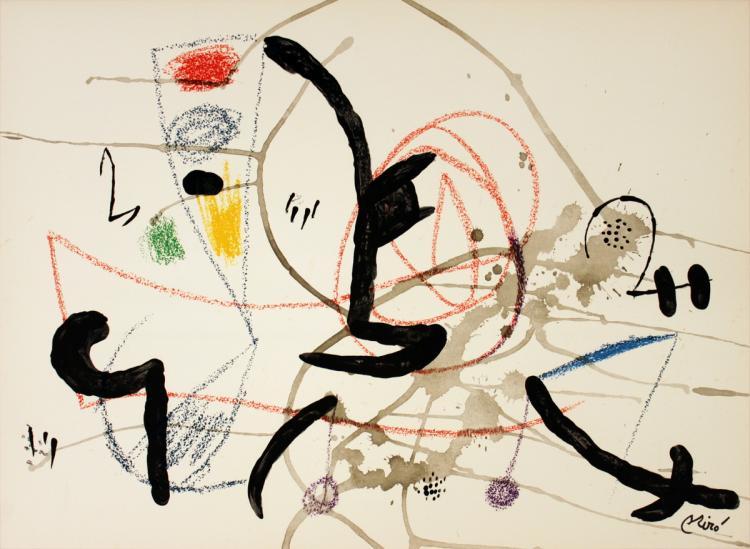 Joan Miro - Maravillas #1063 - 1975
