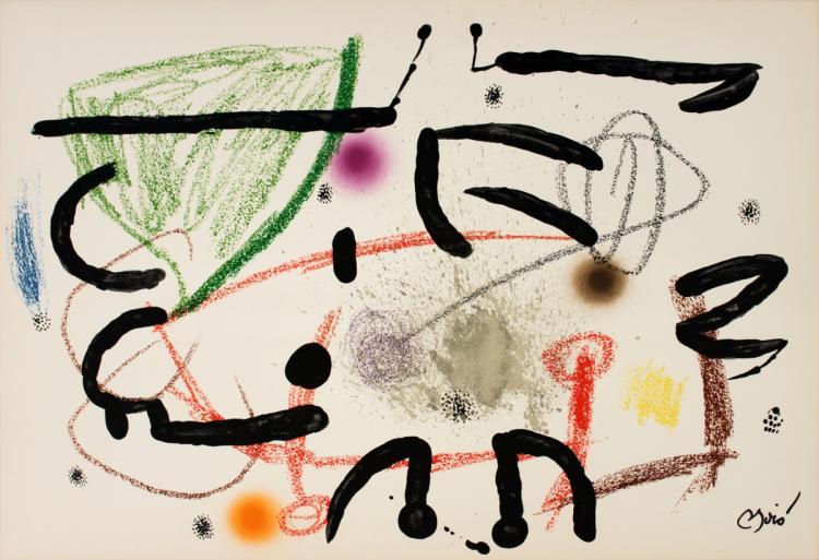 Joan Miro - Maravillas #1067 - 1975
