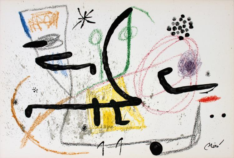 Joan Miro - Maravillas #1061 - 1975