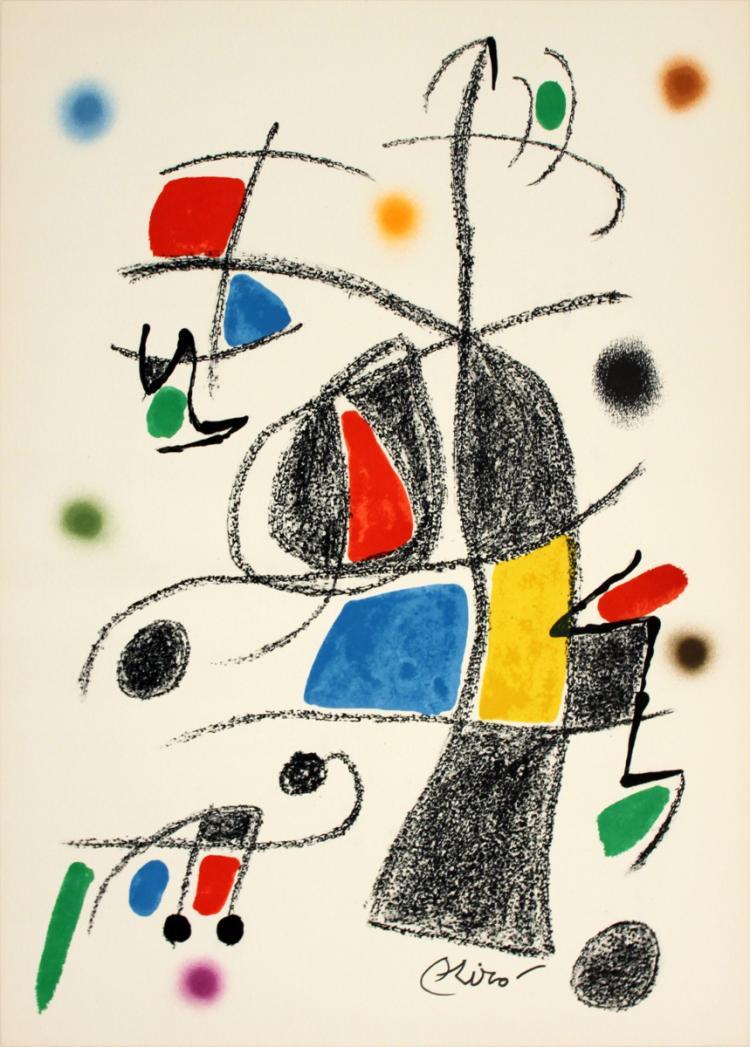 Joan Miro - Maravillas #1069 - 1975
