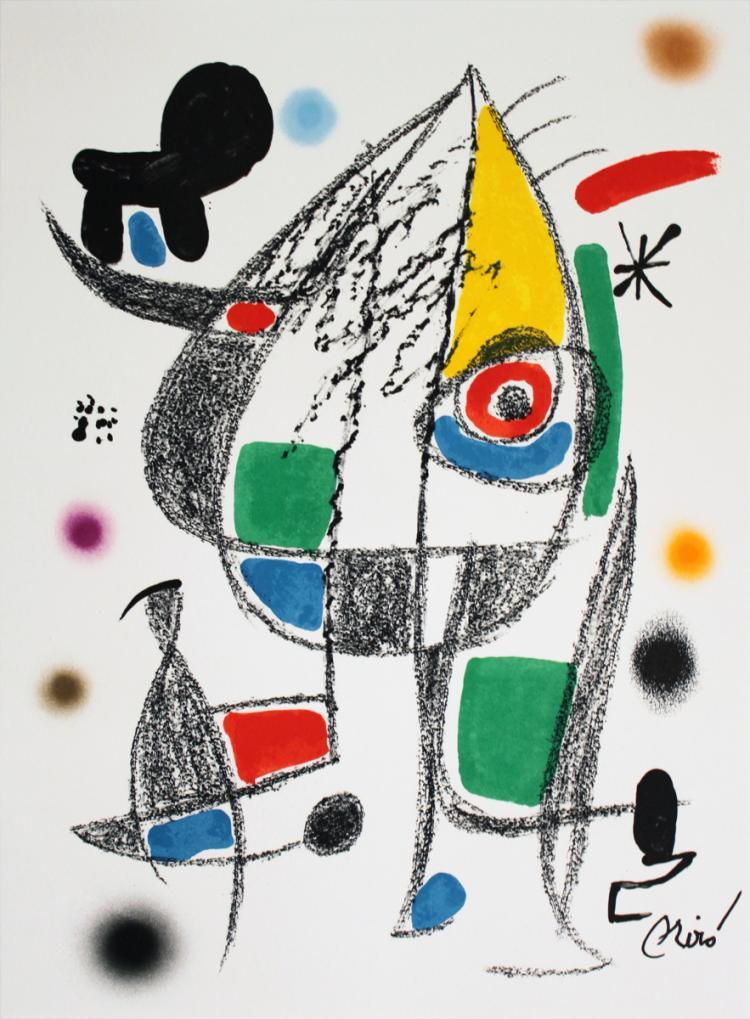 Joan Miro - Maravillas #1072 - 1975