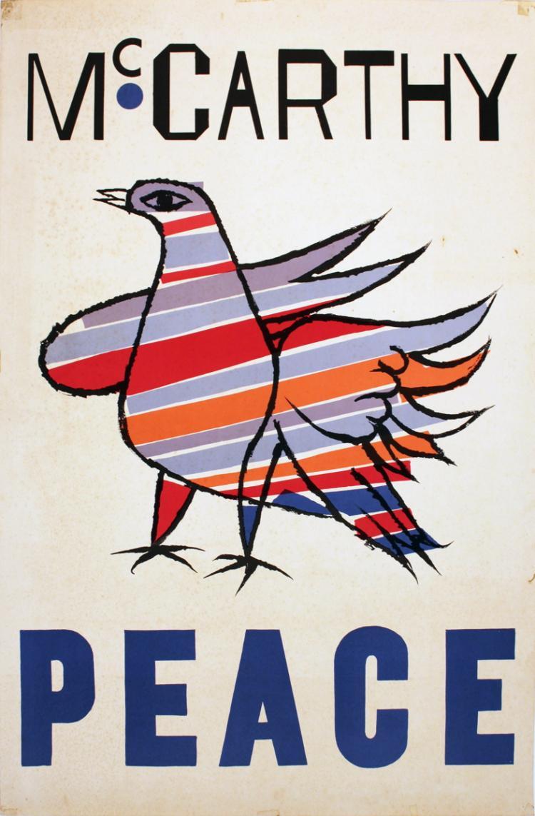 Ben Shahn - McCarthy Peace - 1968