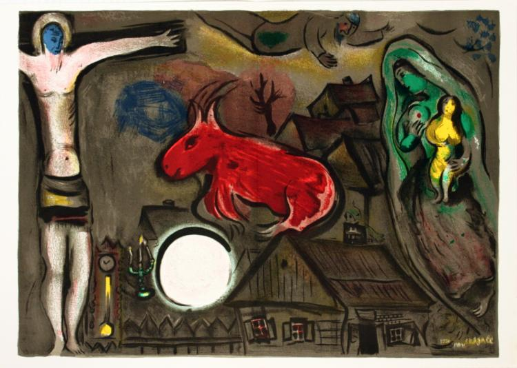 Marc Chagall - DLM Double Page