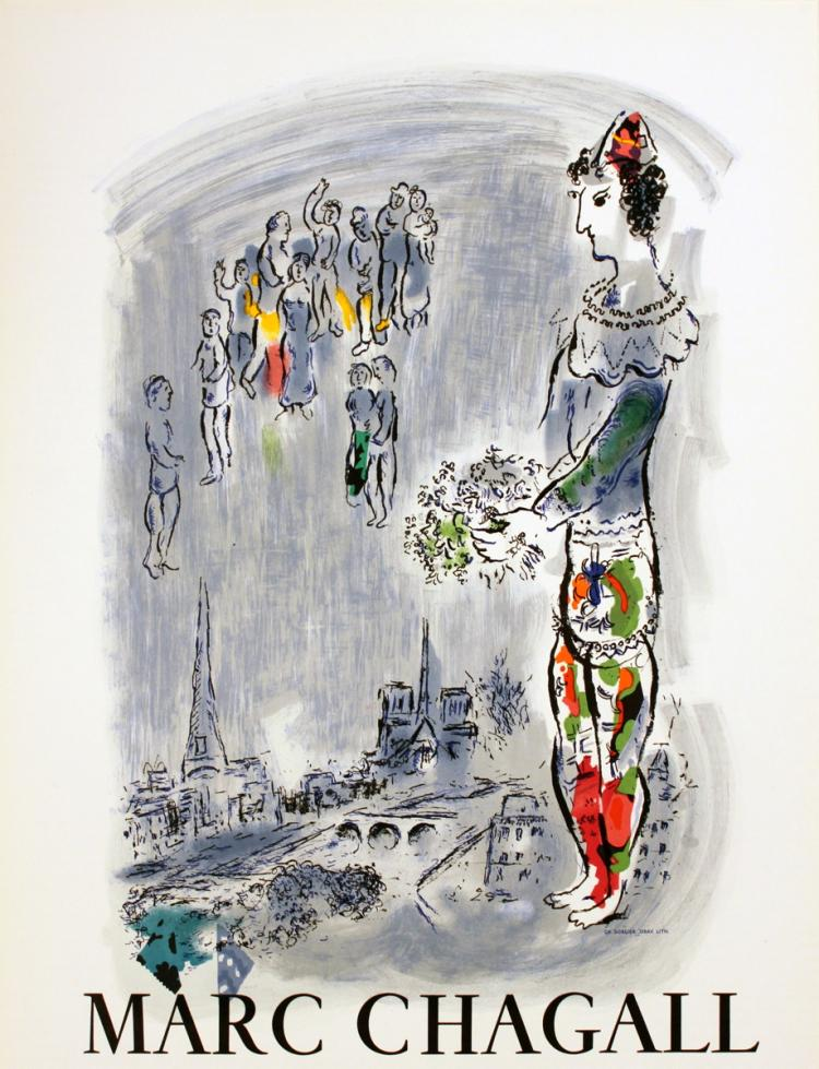 Marc Chagall - The Magician of Paris - 1970