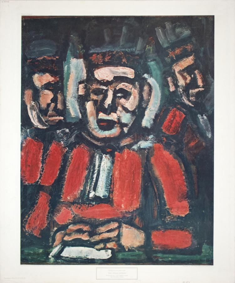 Georges Rouault - The Three Judges