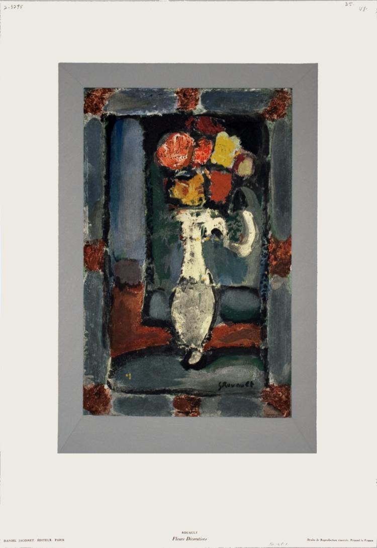 Georges Rouault - Fleurs Decoratives