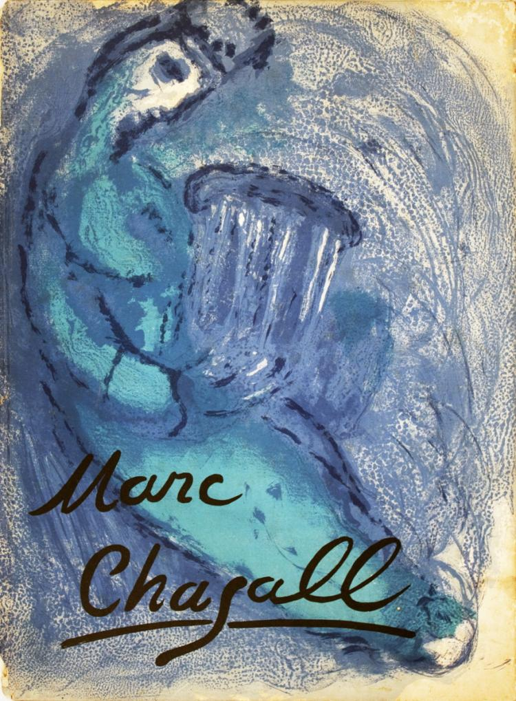 Marc Chagall - Verve Book Cover