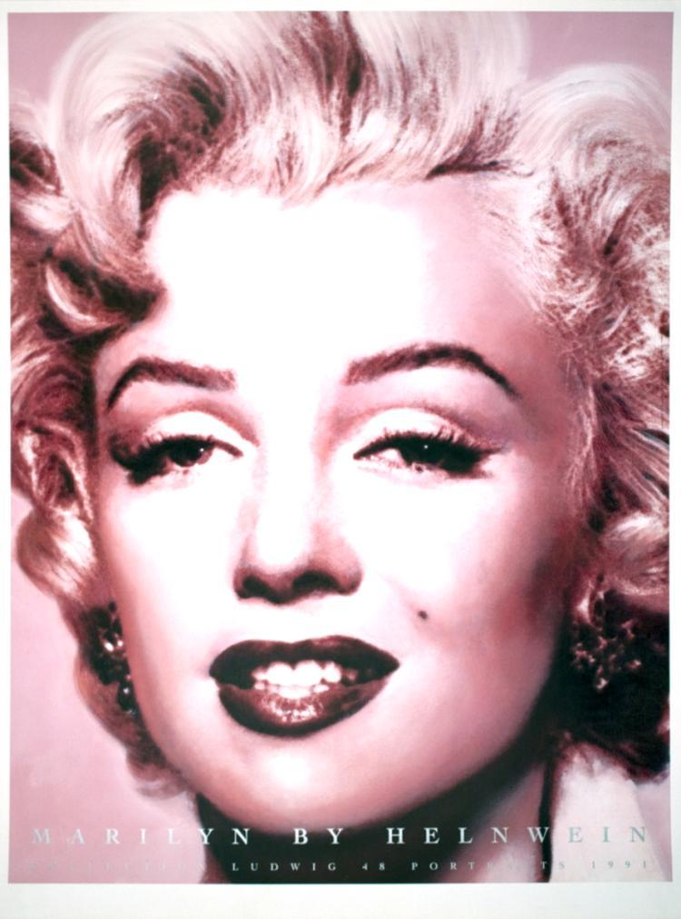 Gottfried Helnwein - Marilyn Monroe - 1992