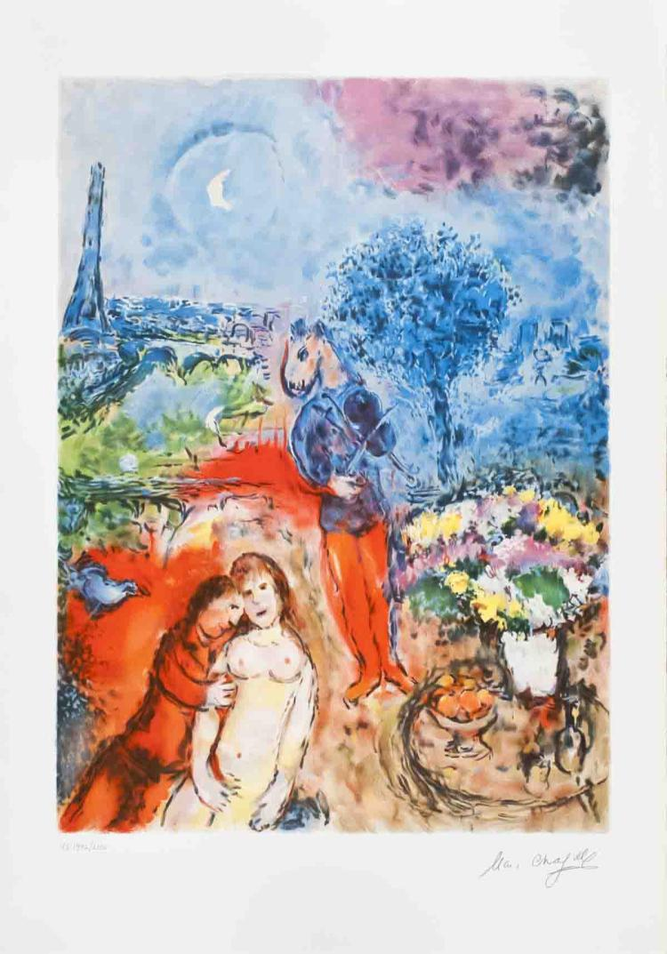 Marc Chagall - Serenade (after) - 1987