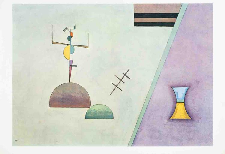 Wassily Kandinsky - Derriere Le Miroir No. 154 Double Page - 1965
