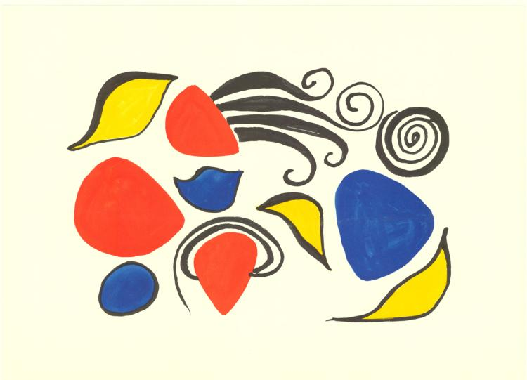 Alexander Calder - Sea Objects