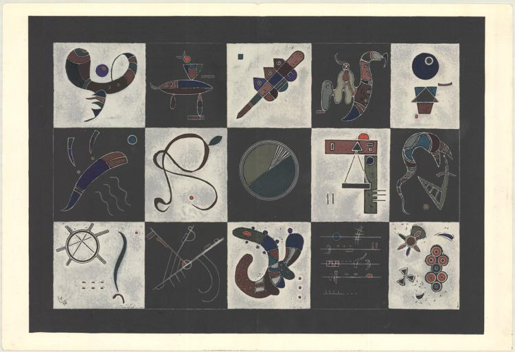 Wassily Kandinsky - Untitled - 1954