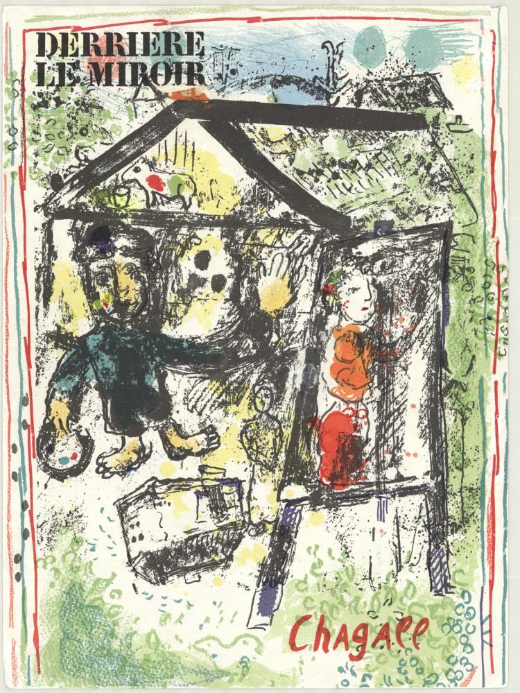 Marc Chagall - Derriere Le Miroir Cover - 1969