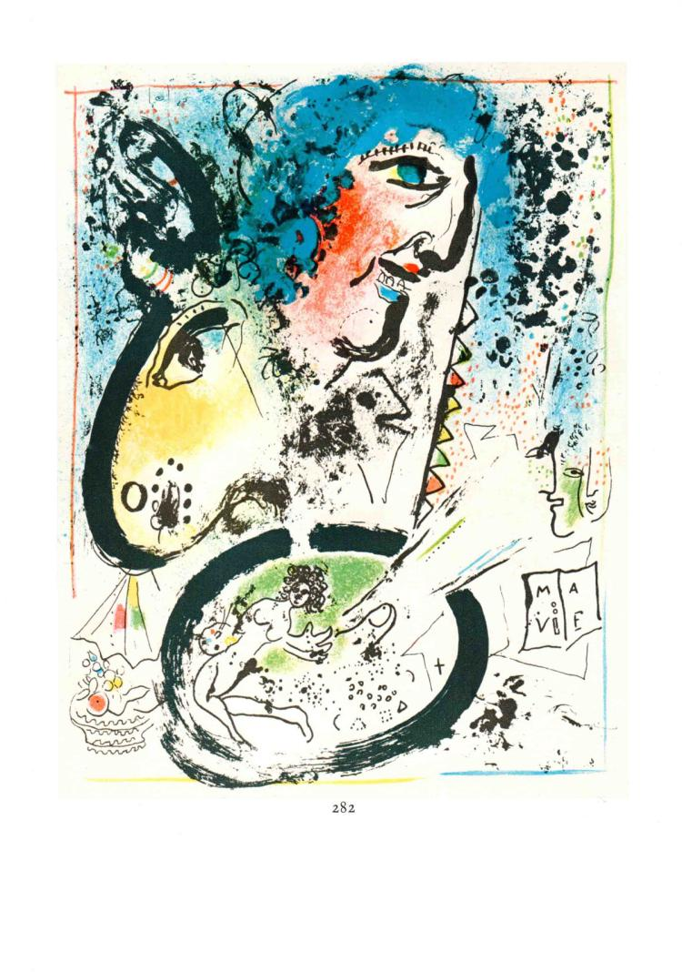 Marc Chagall - Chagall Lithographe Tome I - Frontispice - 1963