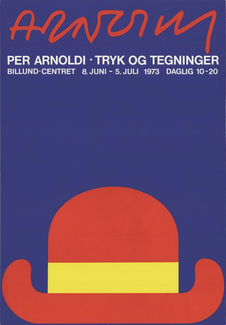Per Arnoldi - Prints and Drawings - 1973