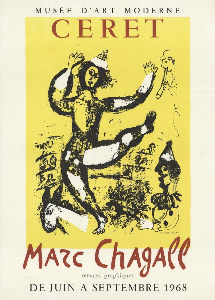 Marc Chagall - The Circus - 1968